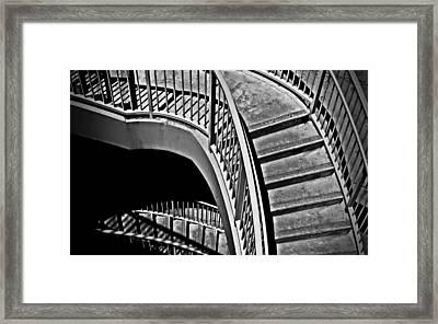 Visions Of Escher Framed Print by Steven Milner