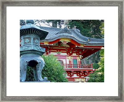 Framed Print featuring the photograph Visions Of Japan by Nancy Bradley