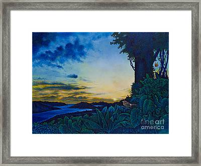Visions Of Paradise II Framed Print by Michael Frank