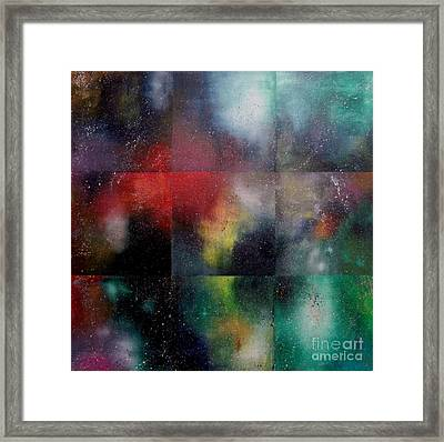 Visions Of Space And Time Framed Print