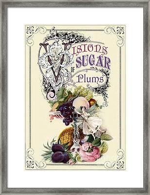 Visions Of Sugar Plums Framed Print