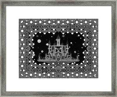 Visions Of The Enigmatist-windows Framed Print by Ron Jones