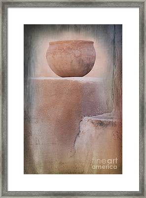 Visions Of The Past Framed Print by Sandra Bronstein