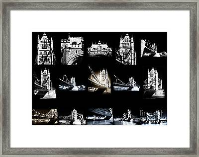Visions Of Tower Bridge Framed Print by John Rizzuto