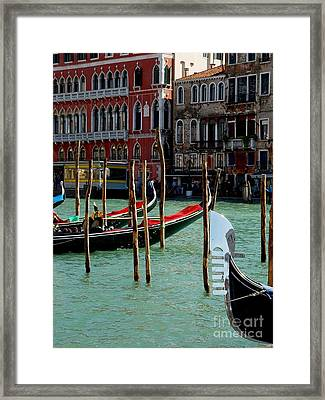 Visions Of Venice 4. Framed Print by Nancy Bradley