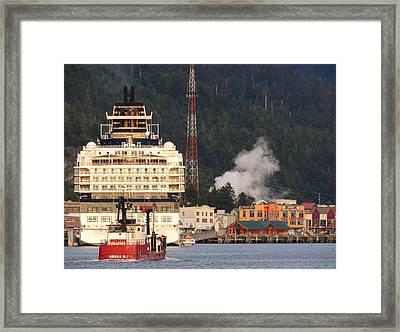 visit Alaska Framed Print
