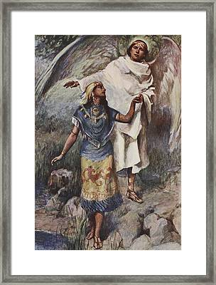 Visitation Framed Print by William Sewell