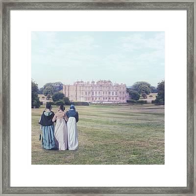 visiting Mr Darcy Framed Print