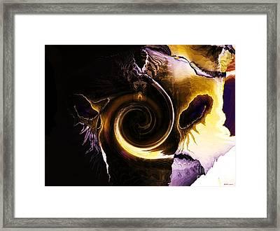 Visitor Framed Print by Elizabeth McTaggart