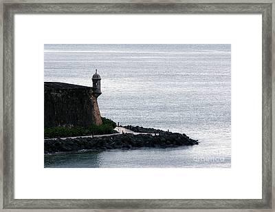 Vista De La Garita Framed Print