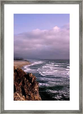 Vista Del Mar San Francisco Framed Print by M Bleichner