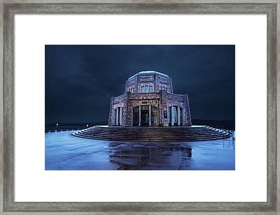 Vista House Framed Print by Joe Hudspeth