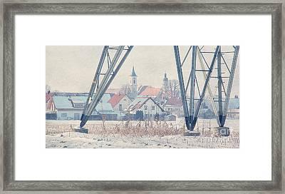 Vista Framed Print by Jutta Maria Pusl