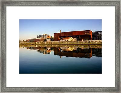 Vistula River 2 Framed Print by Tomasz Dziubinski
