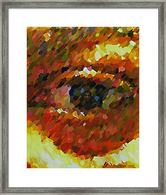 Visual Perception Framed Print by Kenneth Young