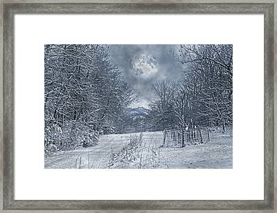 Visual Quiet Framed Print