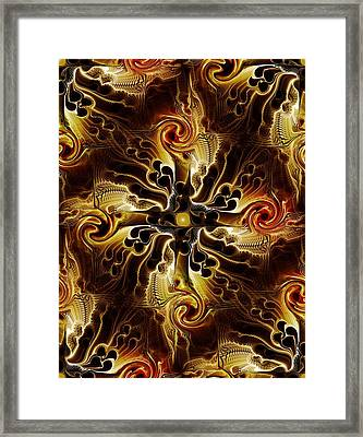 Vital Cross Framed Print