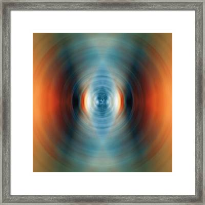 Vitality - Energy Abstract Art By Sharon Cummings Framed Print by Sharon Cummings