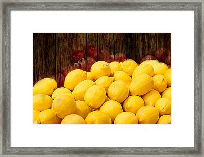 Framed Print featuring the photograph Vitamin C by Gunter Nezhoda