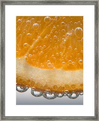 Vitamin C Framed Print by Susan Candelario