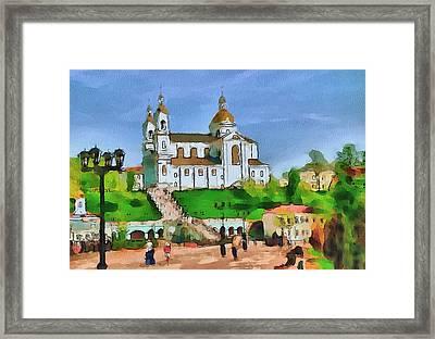 Vitebsk Cathedral 1 Framed Print by Yury Malkov