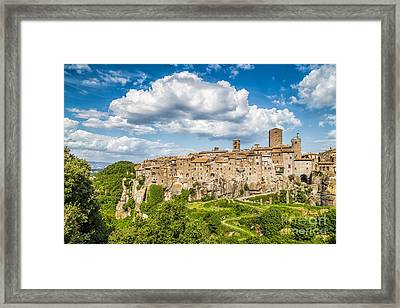 Vitorchiano Framed Print by JR Photography