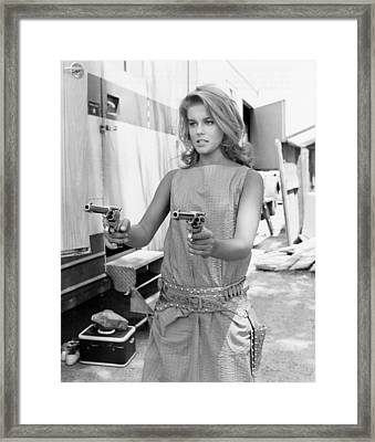 Viva Las Vegas, Ann-margret, Clowning Framed Print by Everett