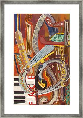 Vivace II Framed Print by Olivia  M Dickerson
