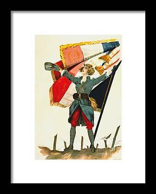 Vive La France Framed Prints