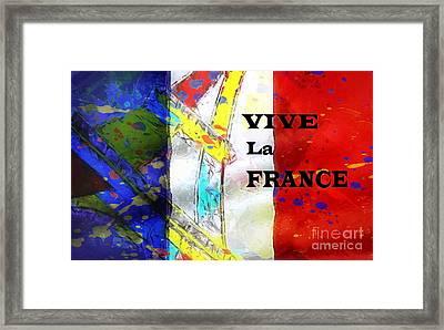 Vive La France Framed Print by Brian Raggatt