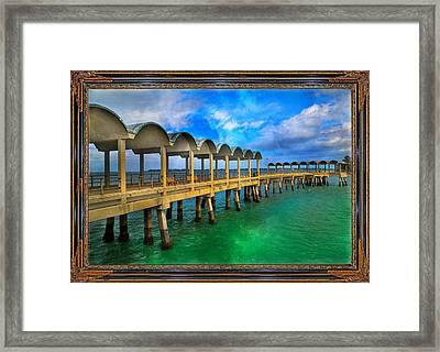 Vivid Calm Framed Print