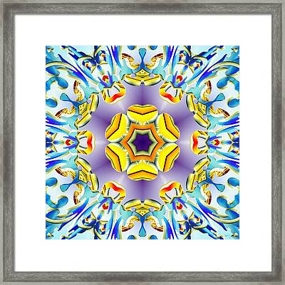 Vivid Expansion Framed Print