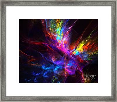 Vivid Imagination Framed Print