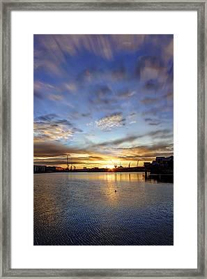 Vivid Morning Framed Print