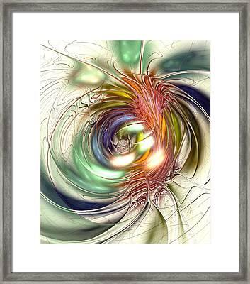 Vivid Vision Framed Print