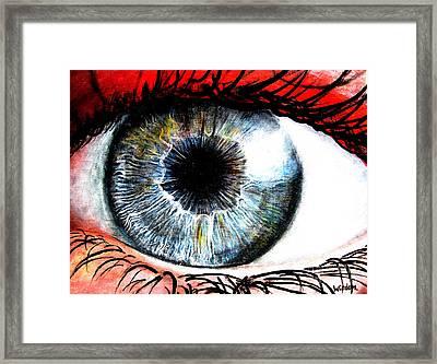 Vivid Vision  Framed Print by Tylir Wisdom