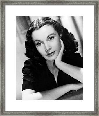 Vivien Leigh Framed Print by Silver Screen