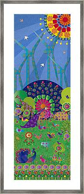 Vivimos En Armonia - Limited Edition 1 Of 20 Framed Print