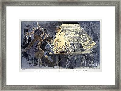 Vivisection Satire, 1911 Framed Print