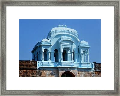 Vizianagaram Forte Framed Print by Johnson Moya