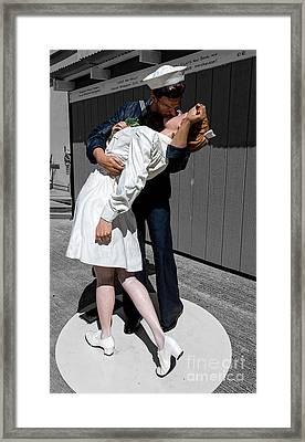 Vj-day Framed Print by Jon Burch Photography