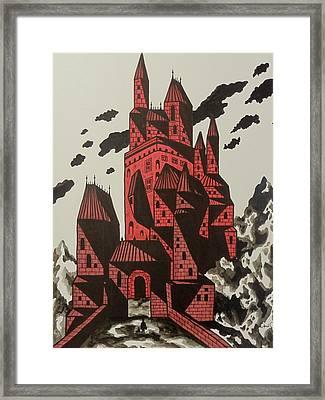 Vlad's Domain Framed Print
