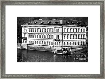 Vltava River History Framed Print