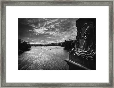 Vltava Framed Print