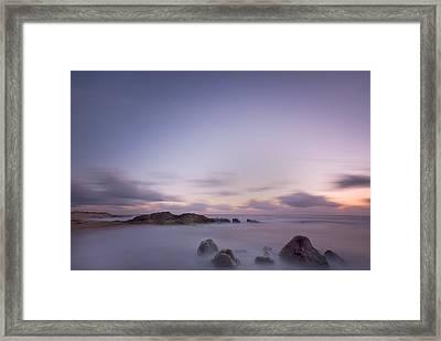 VNg Framed Print