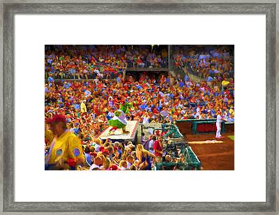 Vodoo Time Framed Print by Alice Gipson