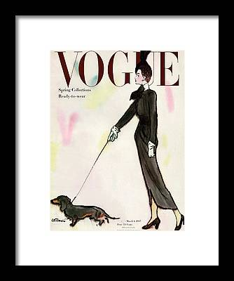 Fashion Illustration Framed Prints