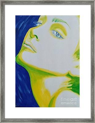 Madonna Vogue Framed Print