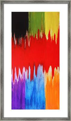 Framed Print featuring the painting Voice by Michael Cross
