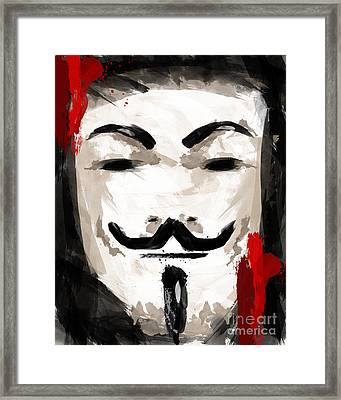 Voice Of Freedom Framed Print by Ahmad Alyaseer